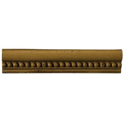 "Emser Tile Natural Stone 12"" x 2"" x 0.37"" Romansa Astra Travertine Chair Rail"