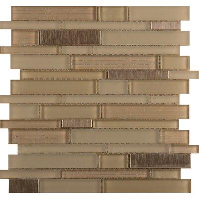 Emser Tile Flash Sized Glass Mosaic Tile in Brilliant