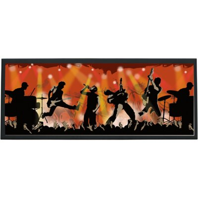 Rock Show Wall Plaque by Illumalite Designs