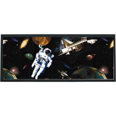 Illumalite Designs Astronauts in Space Wall Plaque