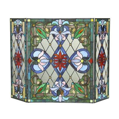 Izzy 3 Panel Fireplace Screen by Chloe Lighting