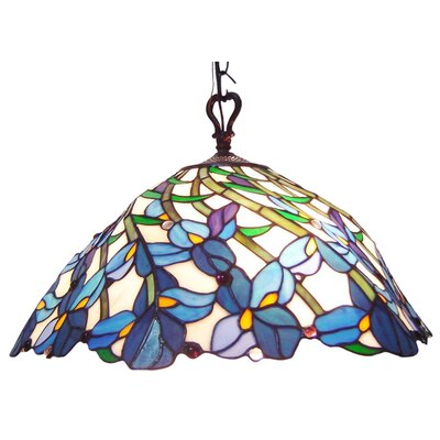 Tiffany 2 Light Pool Table Light by Chloe Lighting