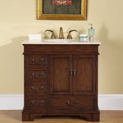 "Bradford 36"" Single Bathroom Vanity Set Product Photo"