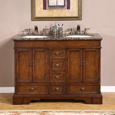 """Bradford 48"""" Double Bathroom Vanity Set Product Photo"""