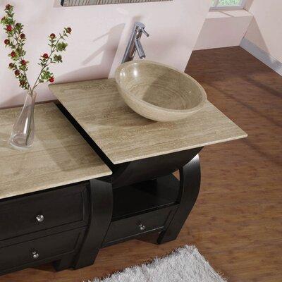 "Silkroad Exclusive Niagara 49"" Single Bathroom Vanity Set"