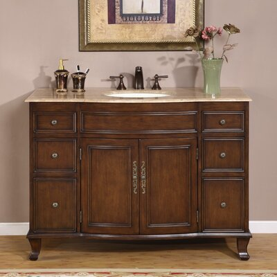 "Ostia 48"" Single Bathroom Vanity Set Product Photo"