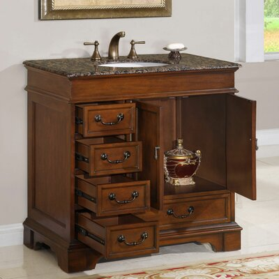 Silkroad Exclusive Ashley 36 Single Bathroom Vanity Set Reviews Wayfair