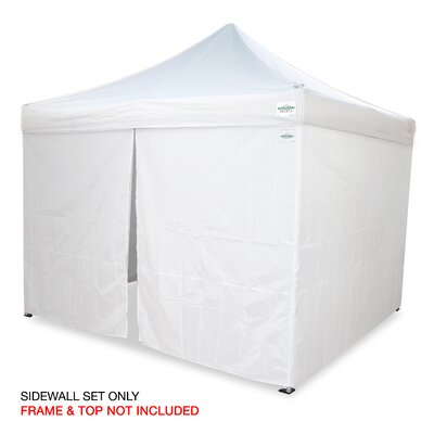 M - Series PRO 10 Ft. W x 10 Ft. D Sidewall Kit Canopy by ...