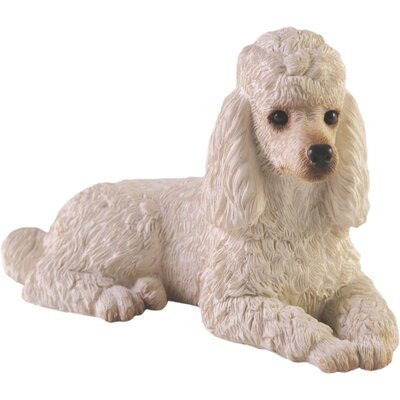 Small Size Poodle Sculpture by Sandicast