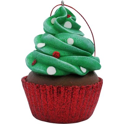 Confetti Cupcake Christmas Ornament