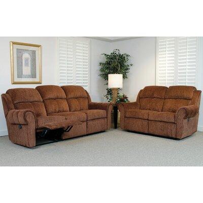 Serta Upholstery Double Reclining Sofa Amp Reviews Wayfair