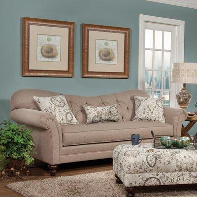 Sofa in Abington Safari by Serta Upholstery