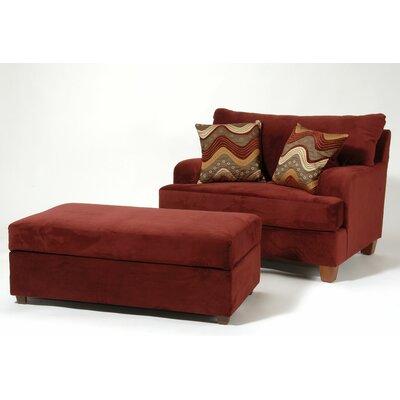 Serta Upholstery Chair and Ottoman