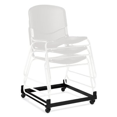 """Offices To Go Stack and Guest 4"""" x 23.5"""" x 24"""" Chair Dolly"""