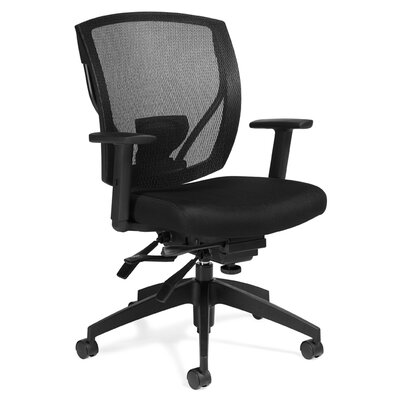Offices To Go Mid-Back Mesh Conference Chair