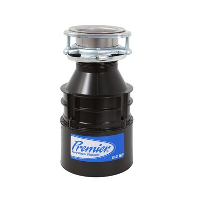 Premier Faucet 1/2 HP Garbage Disposal with Continuous Feed