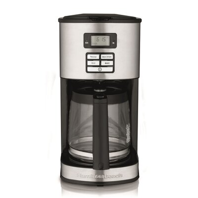 12 Cup Stainless Steel Coffee Maker by Hamilton Beach