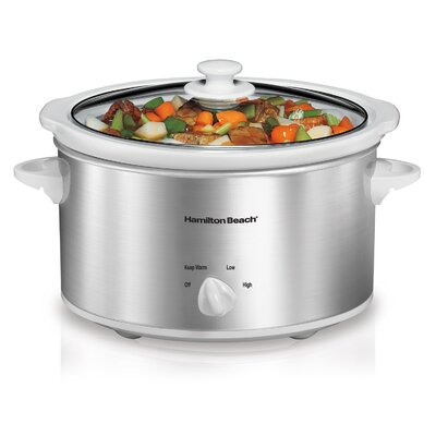 4-Quart Slow Cooker by Hamilton Beach