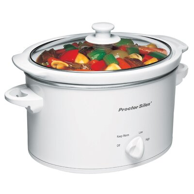 3 Qt. Slow Cooker by Proctor-Silex