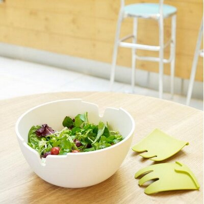 "Joseph Joseph Hands-On 11"" Salad Bowl and Servers"