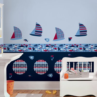 Kids Regatta Decor Wall Decal by WallPops!