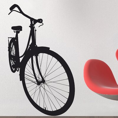 Euro Bicycle Wall Decal by Brewster Home Fashions