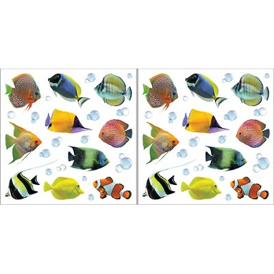 Euro Fish Wall Decal Set by Brewster Home Fashions