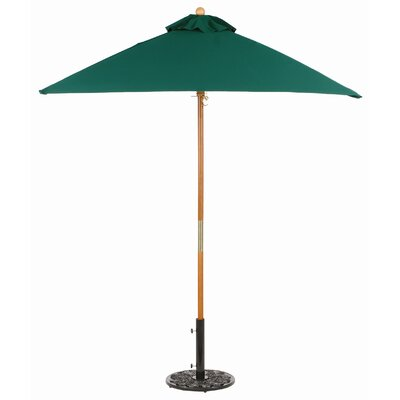 6' Sunbrella Square Market Umbrella by Oxford Garden