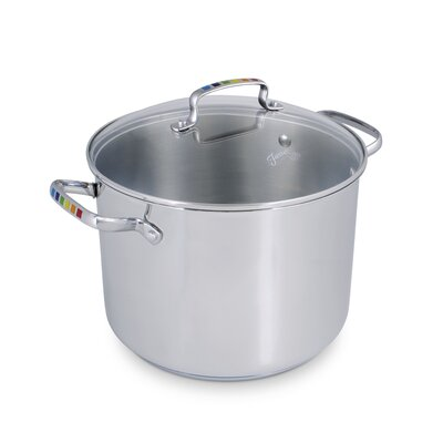Masquerade 8-qt. Stock Pot with Lid by Fiesta
