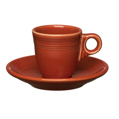Fiesta 3 oz. Ad Demi Cup and Saucer
