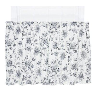 Winston Floral Print Tailored Tier Curtain (Set of 2) Product Photo