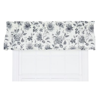 "Winston Floral Print Tailored 70"" Curtain Valance Product Photo"