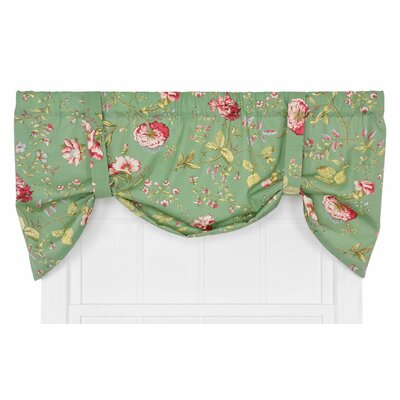 Coventry Medium Scale Floral Tie-Up Curtain Valance Product Photo
