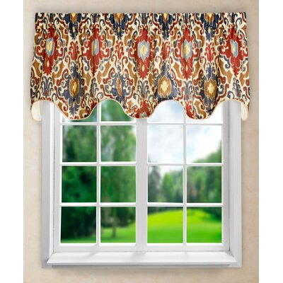 Tuscany Lined Scallop Curtain Valance Product Photo