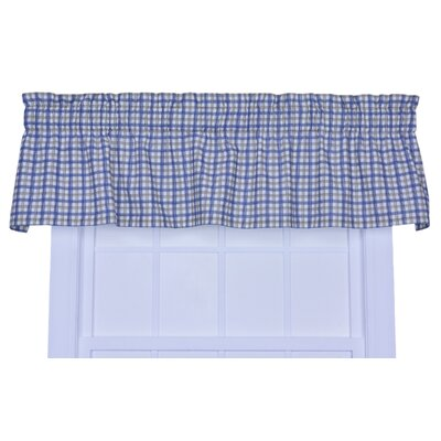 "Bristol Plaid Window 70"" Curtain Valance Product Photo"