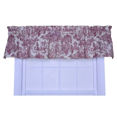 "Victoria Park Toile 70"" Curtain Valance Product Photo"