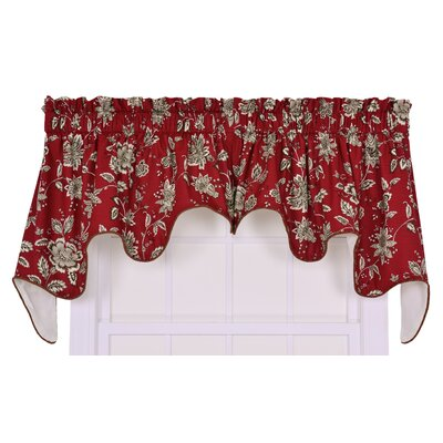 "Jeanette Lined Duchess 100"" Curtain Valance Product Photo"