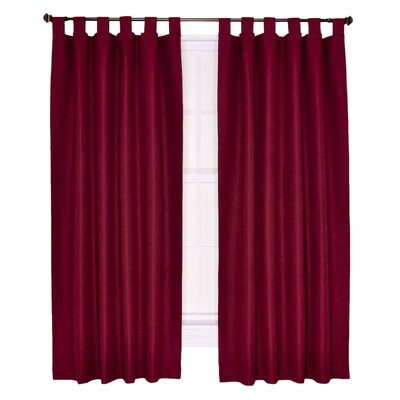Crosby Insulated Tab Top Foamback Curtains Panel (Set of 2) Product Photo