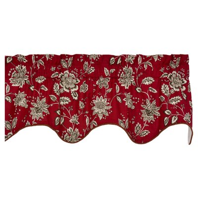 "Jeanette Lined Duchess Filler 50"" Curtain Valance Product Photo"