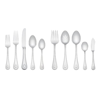 French Perle 45 Piece Flatware Set by Lenox
