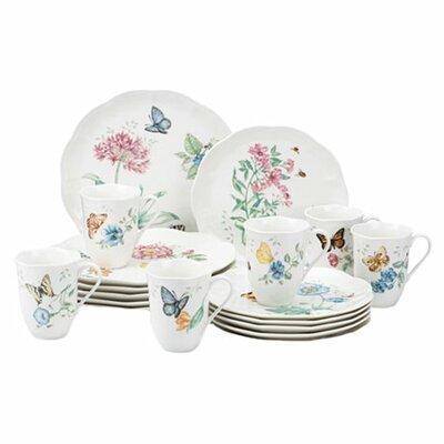 Butterfly Meadow 18 Piece Dinnerware Set by Lenox