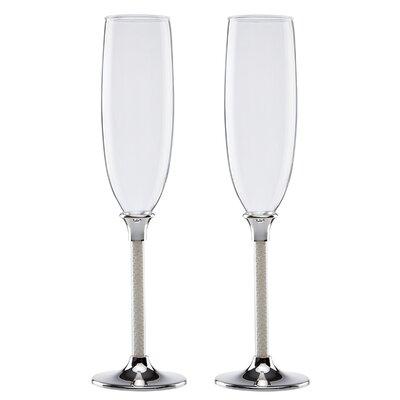 Jubilee Pearl Champagne Flute by Lenox