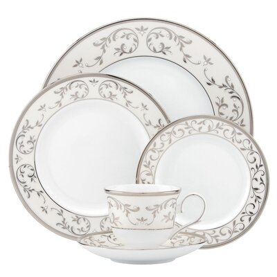 Opal Innocence Silver 5 Piece Place Setting by Lenox