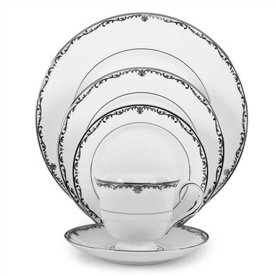 Coronet Platinum Dinnerware Collection by Lenox