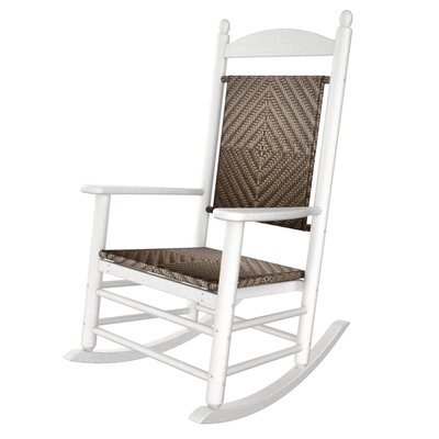 POLYWOOD® Rhodes Polywood Rocking Chair in White