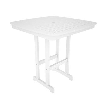 POLYWOOD® Nautical Square Bar Table
