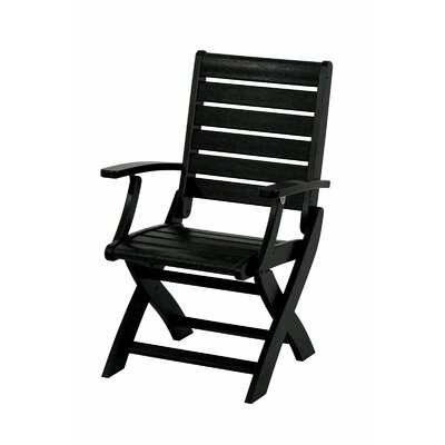 POLYWOOD® Signature Folding Dining Arm Chair