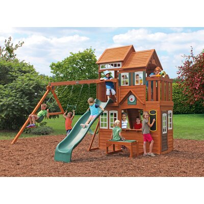 Mount Forest Lodge Swing Set Product Photo