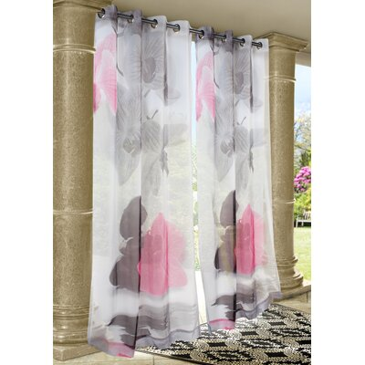 Outdoor Décor Zen Rocks Single Curtain Panel Product Photo
