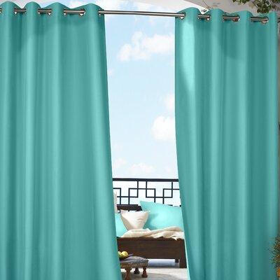 Outdoor Decor Gazebo Grommet Top Single Curtain Panel Product Photo